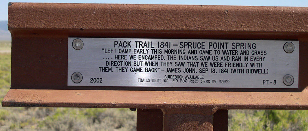 Pack Trail 1841 (PT-8),Clover Valley, Elko County, Nevada