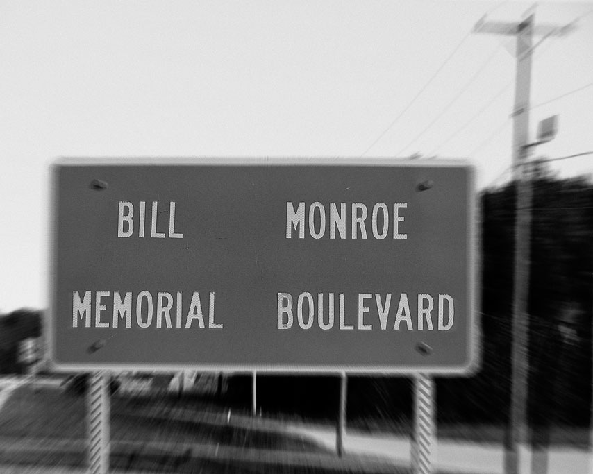 Bill Monroe Memorial Highway, Beaver Dam, Kentucky, Andrew D. Barron &copy79/16/08