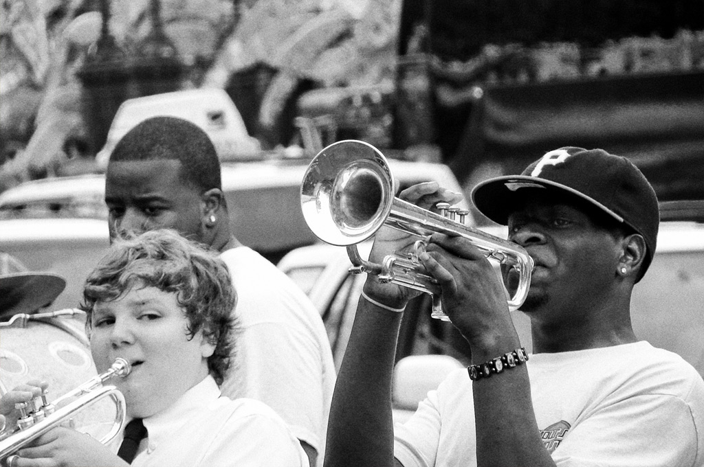 Street musicians, New Orleans, Andrew D. Barron©6/14/08