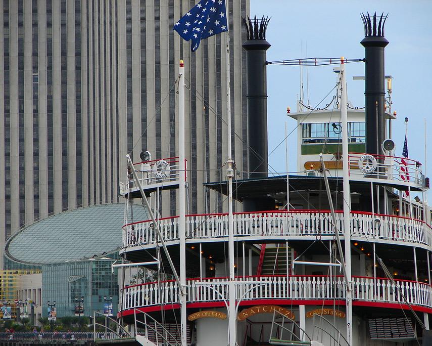 Steamer Natchez, New Orleans, Andrew D. Barron©6/14/08