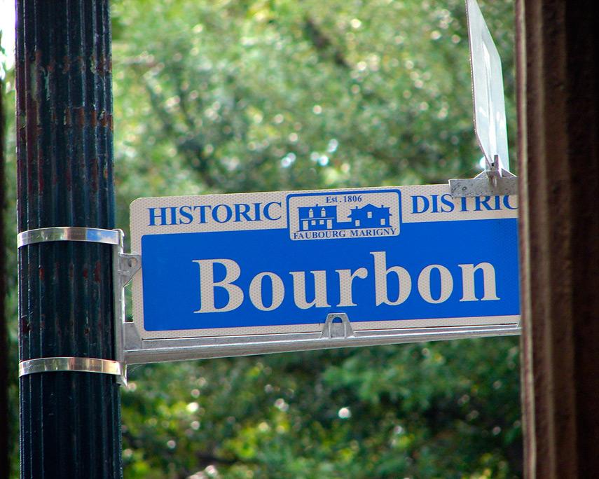 Bourbon street, New Orleans, Andrew D. Barron©6/14/08