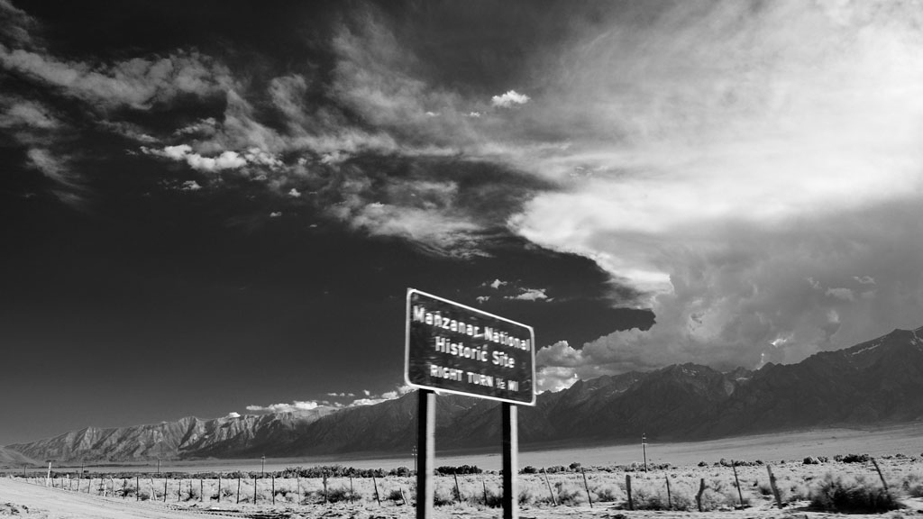 Manzanar at 65mph, Andrew D. Barron ©7/23/10
