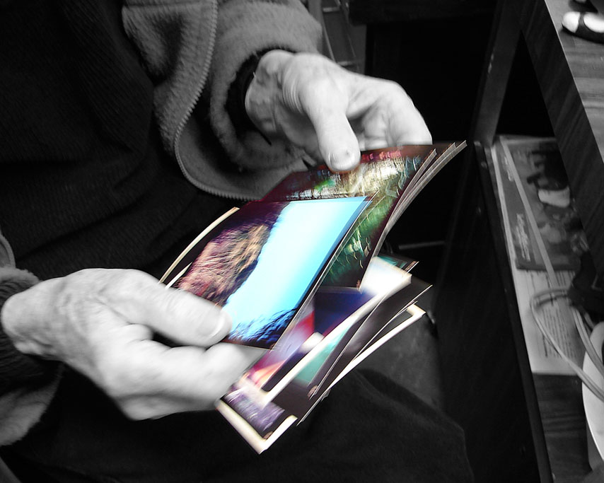 Hipstamatic prints through the gauntlet of thumbs, Andrew D. Barron ©1/15/11