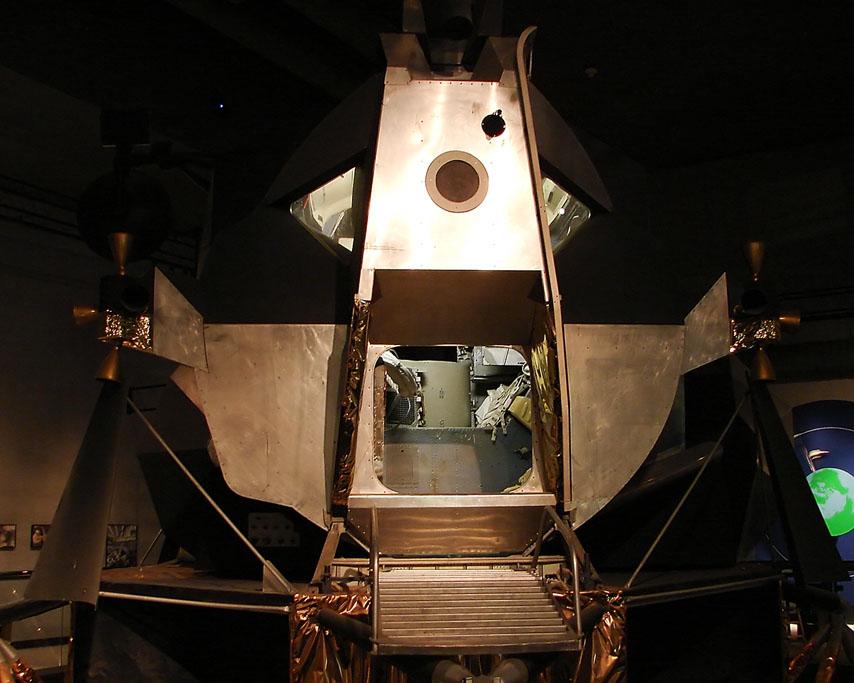 Lunar Module M-5, Andrew D. Barron ©2007