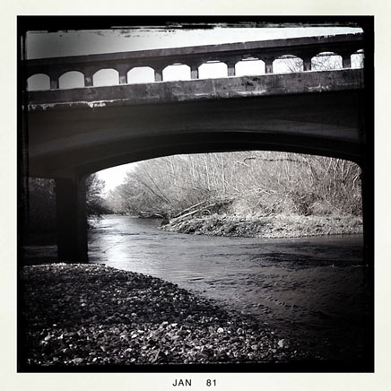 Euchre Creek bridge, Curry County, OR, Andrew D. Barron ©1/10/11