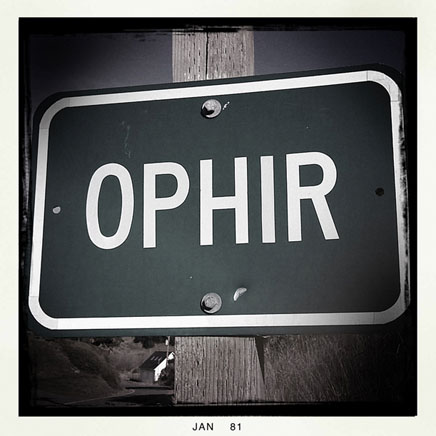 Ophir, Curry County, OR, Andrew D. Barron ©1/10/11