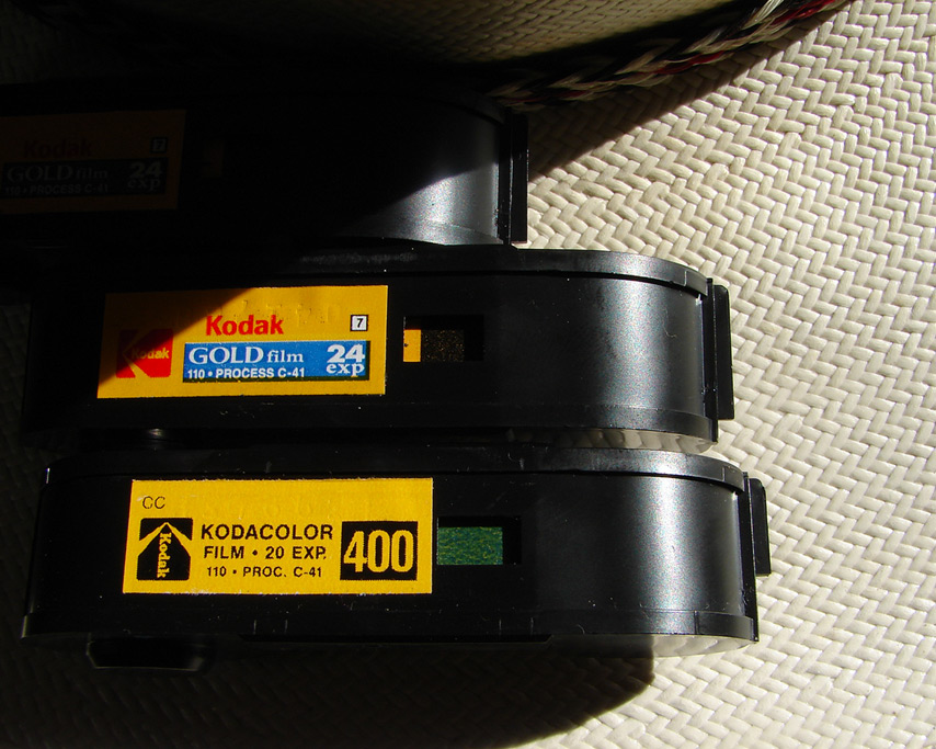 110 film cartridges, Andrew D. Barron©8/17/11