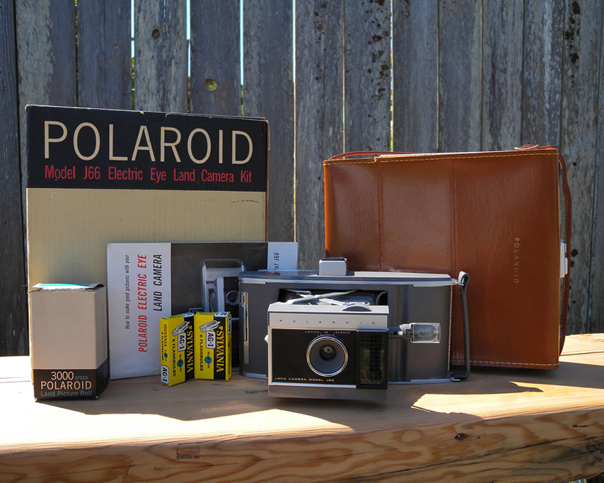 Polaroid Land Camera J66 , Andrew D. Barron©8/17/11