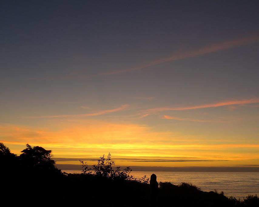 August sunset, Andrew D. Barron©8/21/11