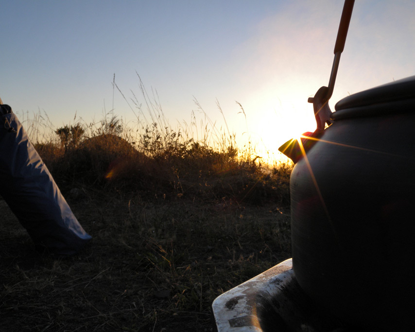 Tea at sunset, Andrew D. Barron©8/28/11