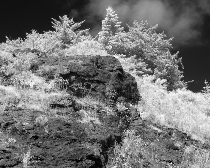 Beat up rocks, Wedderburn, OR, Andrew D. Barron©8/21/11