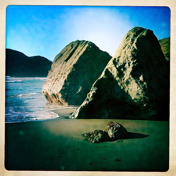 North beach at Sisters Rocks, Curry County, OR, Andrew D. Barron©8/2/11