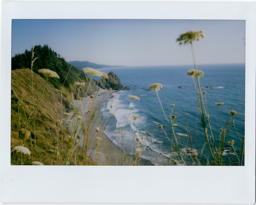 Instax 210 shoots towards Devil's Backbone, Andrew D. Barron©8/2/11