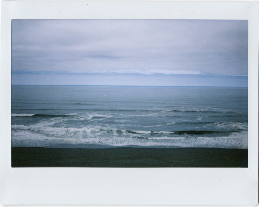 Instax 210: Clearing over the Pacific, Andrew D. Barron©8/26/11