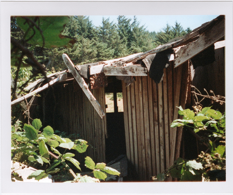 Abandoned building near Gold Beach, Andrew D. Barron©8/22/11