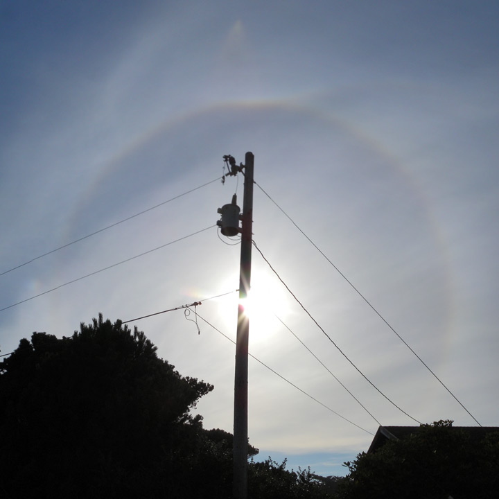 Full circle sun dog, Andrew D. Barron©9/17/11