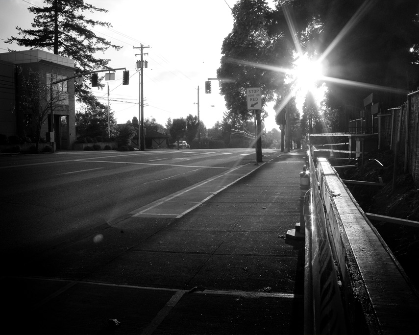 Sandy boulevard sunset, Portland, OR, Andrew D. Barron©10/30/11