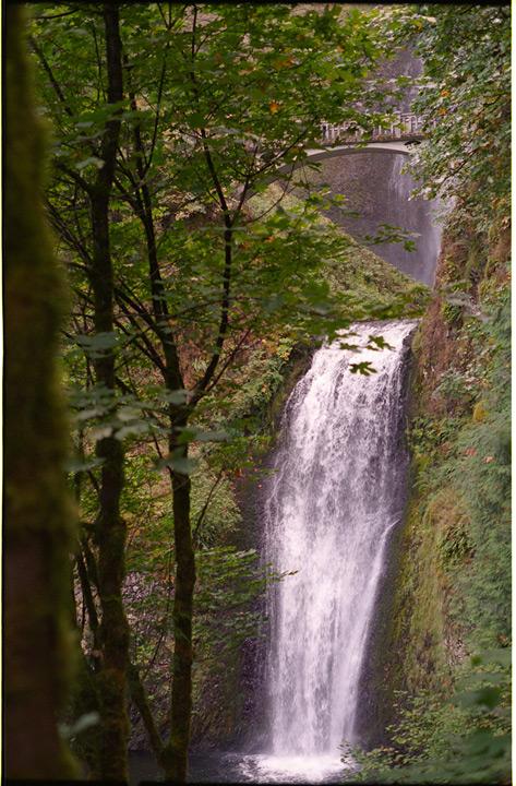 Multnomah Falls, Columbia River gorge, Andrew D. Barron©10/15/11