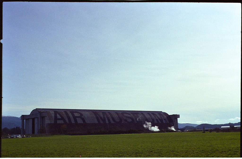 Air Museum, south of Tillamook, Andrew D. Barron©11/20/11