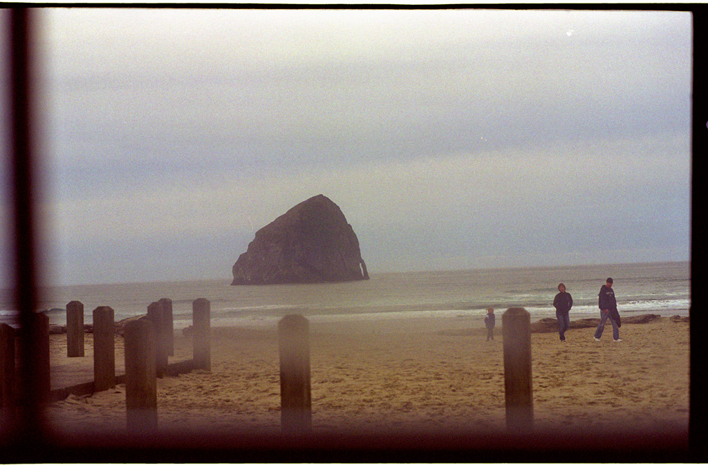 From the window of the Pelican Brewery, Pacific City, OR, Andrew D. Barron©11/20/11
