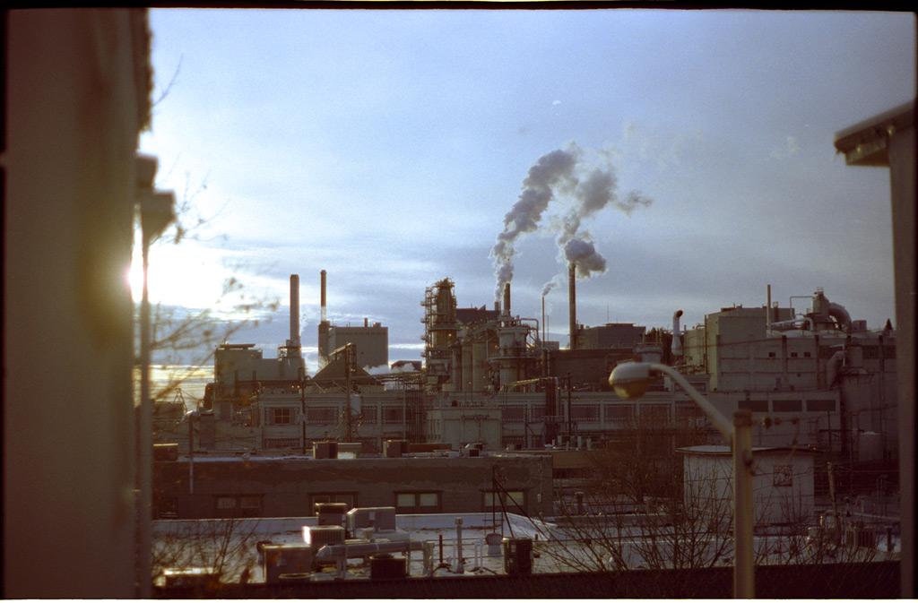 Georgia Pacific paper mill, Camas, WA, Andrew D. Barron©11/27/11