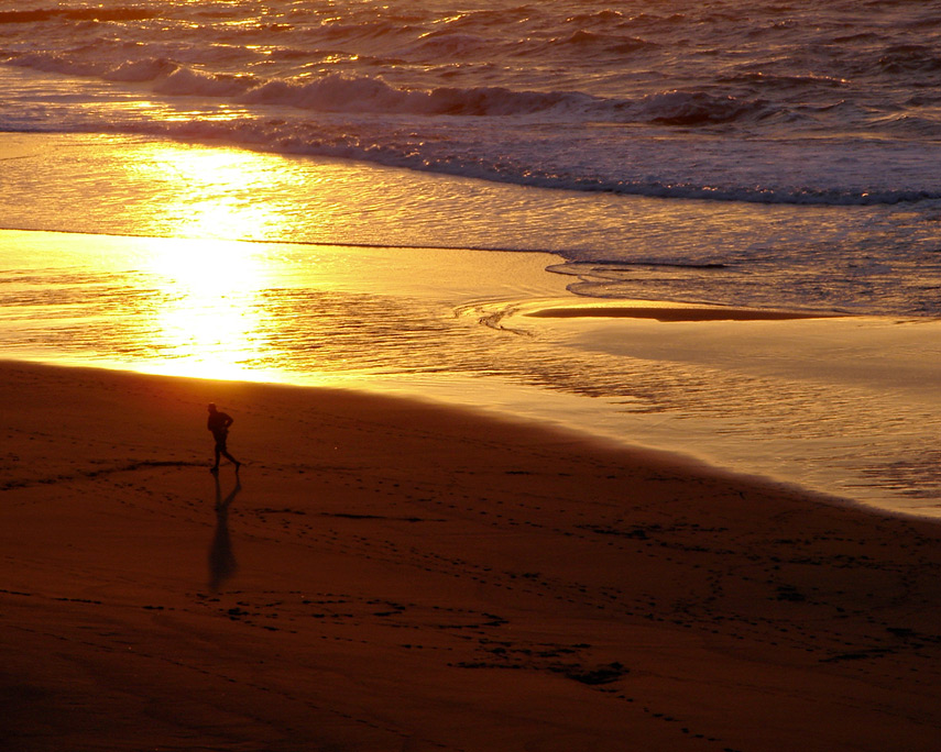 Sunset, Nesika Beach, Andrew D. Barron©12/22/11
