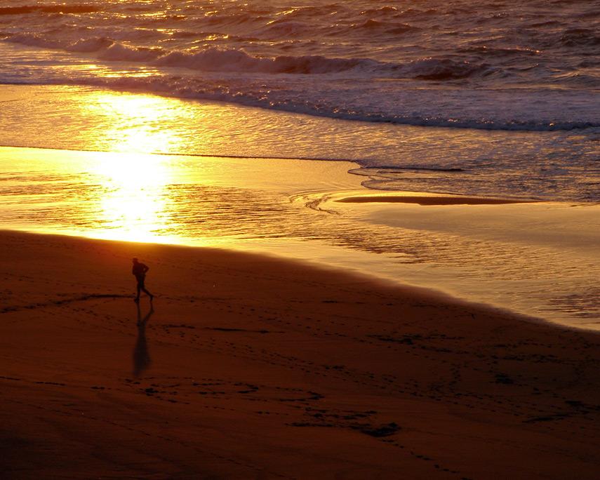 Sunset, Nesika Beach, Andrew D. Barron©12/22/11