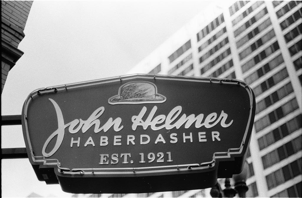 John Helmer: haberdasher, Portland, Andrew D. Barron©12/7/11