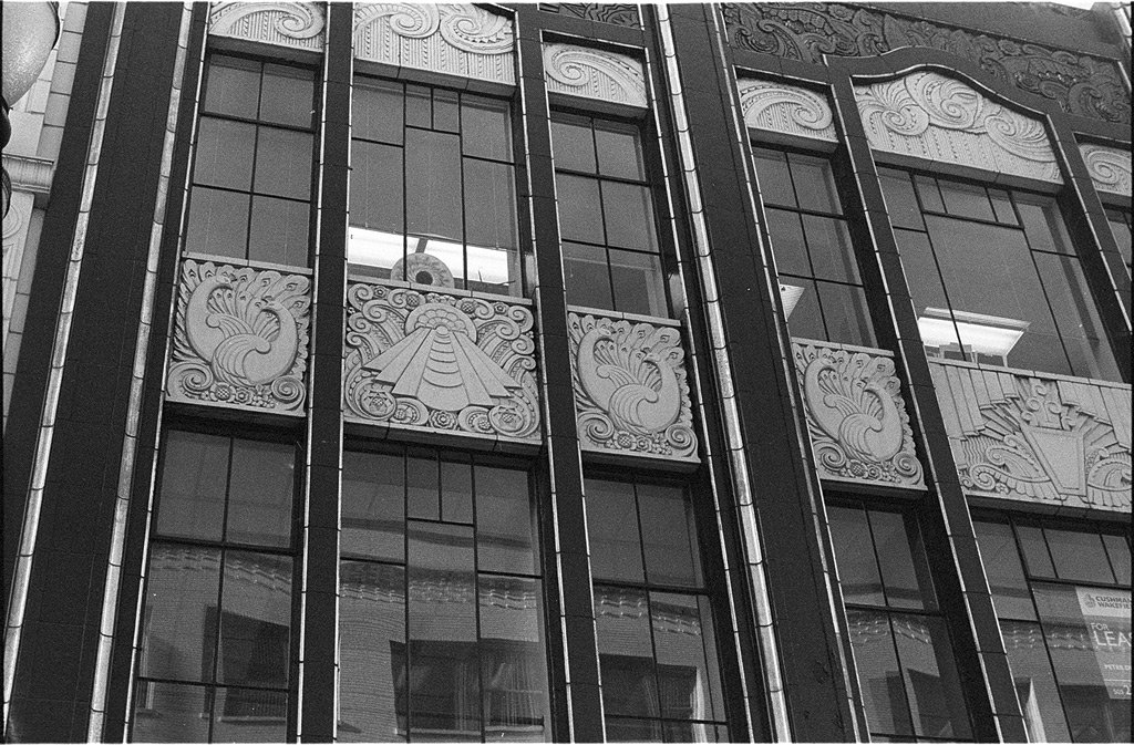 Charles F. Berg building, downtown Portland, Andrew D. Barron©12/8/11