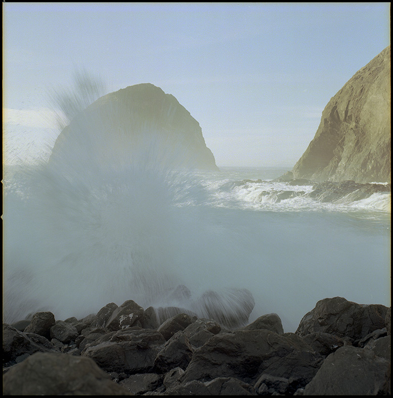 North side waves, Sisters Rocks, Andrew D. Barron©12/24/11 [Hasselblad 500c/m, 80mm ƒ2.8, Ektar 100]