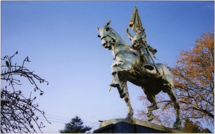 Joan of Arc, Coe Circle on Glisan, Portland, Andrew D. Barron©12/17/11