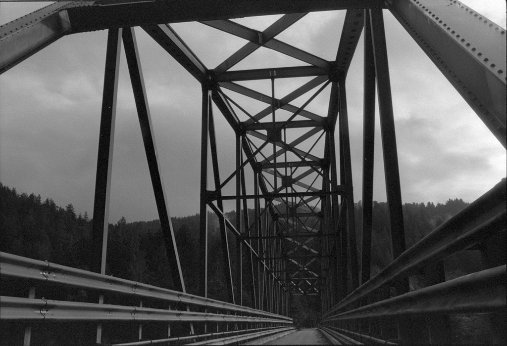 Lobster Creek bridge, Andrew D. Barron©12/30/12