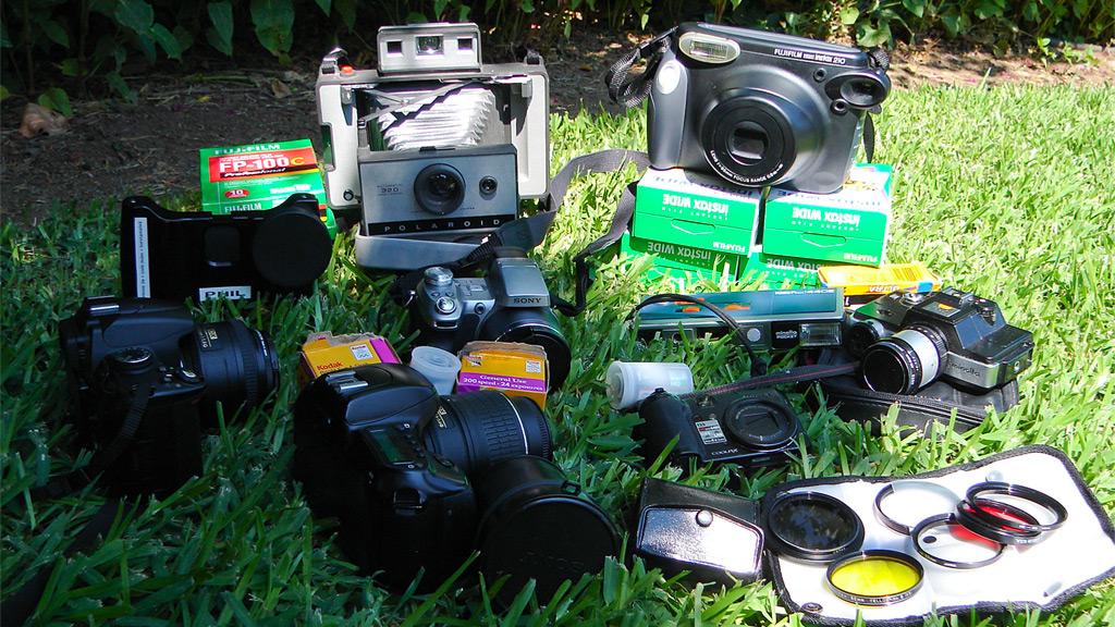 Nine cameras, Andrew D. Barron©7/15/11