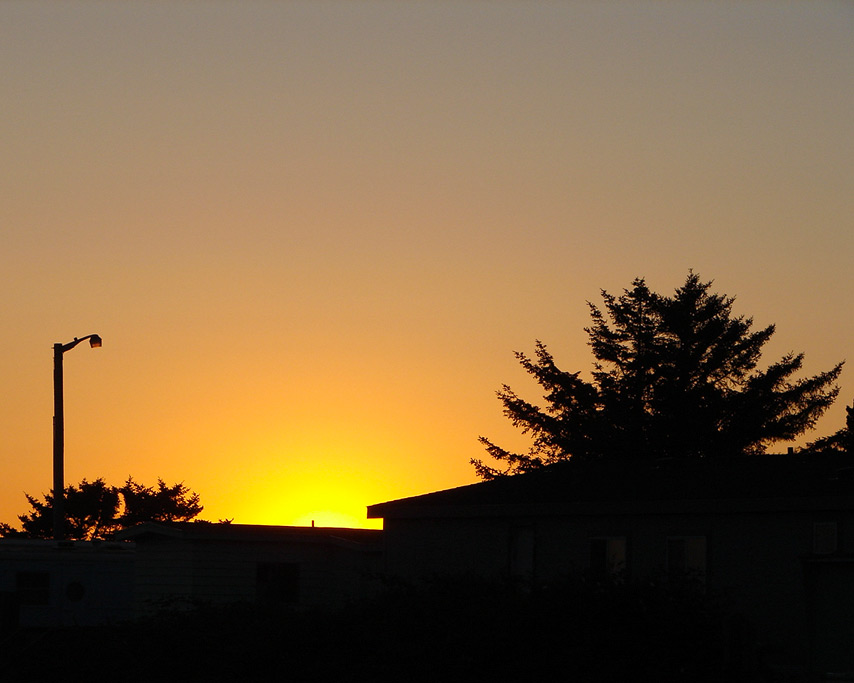 Gold Beach sunset, Curry County Fair, Andrew D. Barron©7/30/11
