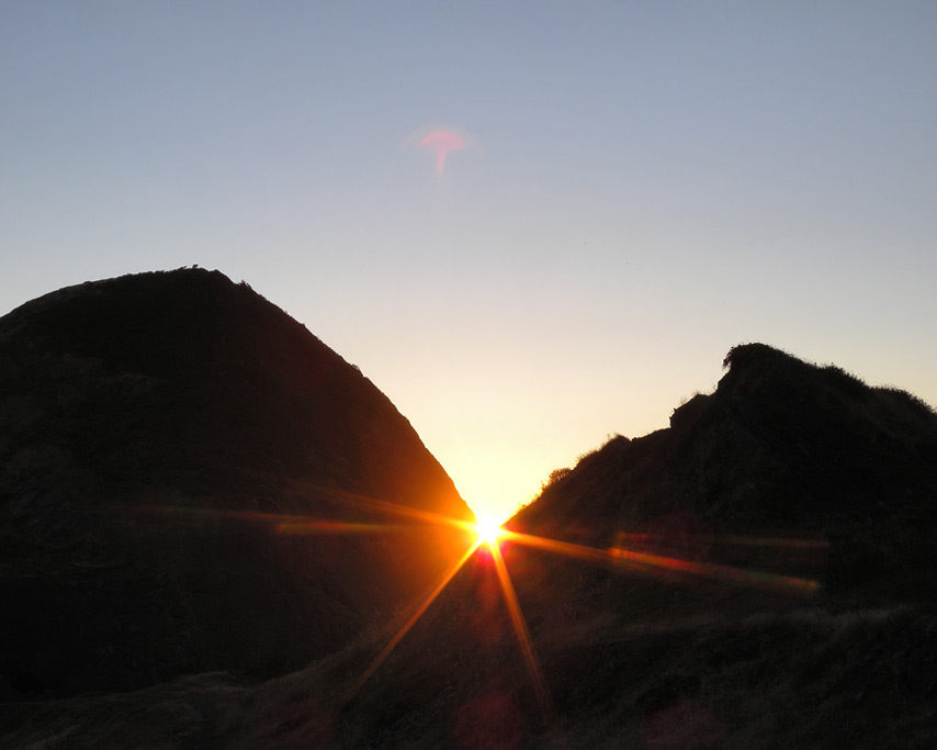 Sunset at Sisters Rocks, Curry County, OR, Andrew D. Barron©7/31/11