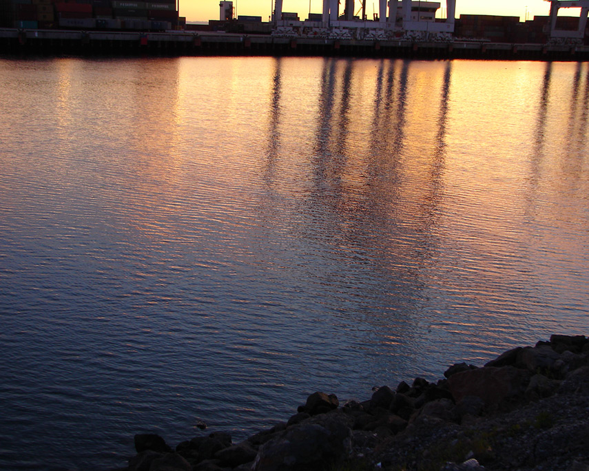 Long Beach harbor, Andrew D. Barron©1/9/12