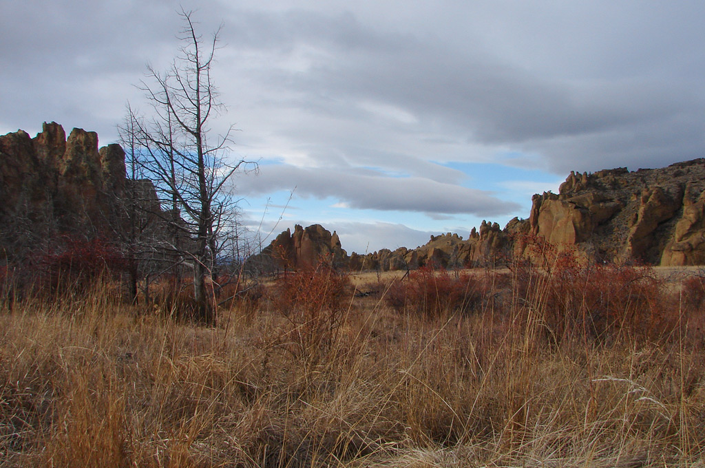 Smith Rock state park, OR, Andrew D. Barron©1/16/12