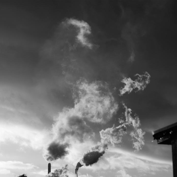 Camas paper mill, Andrew D. Barron&copy;<br />1/21/12