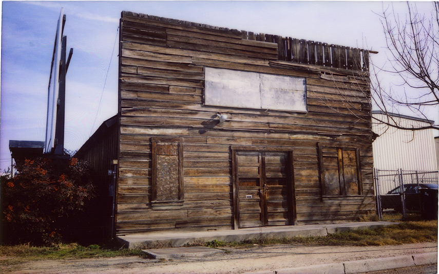 Old building, Madera, CA, Andrew D. Barron©1/10/12