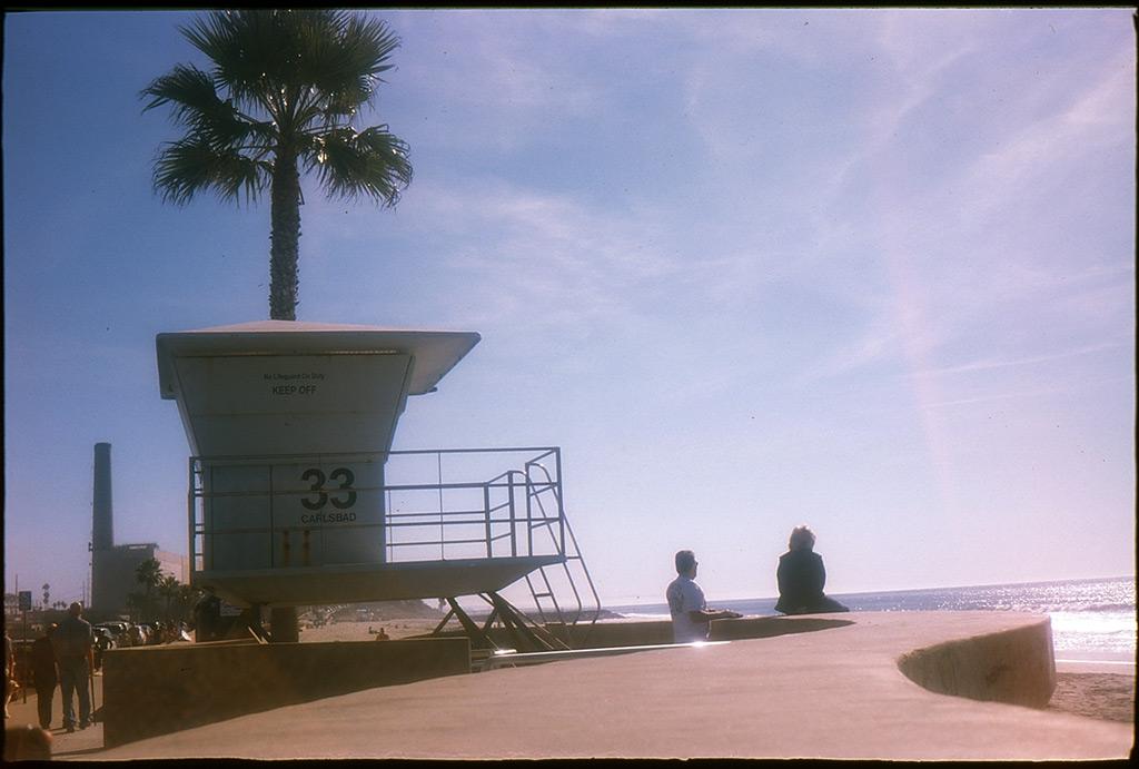 Carlsbad lifeguard, Andrew D. Barron©1/9/12