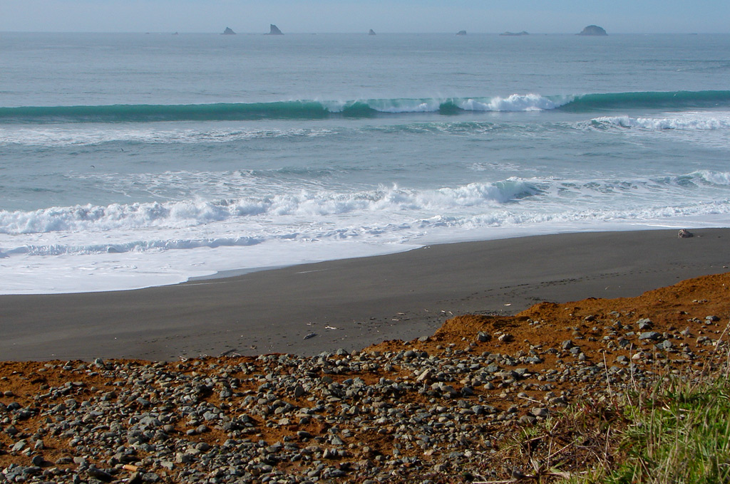 Paradise Point, Port Orford, Andrew D. Barron©2/2/12