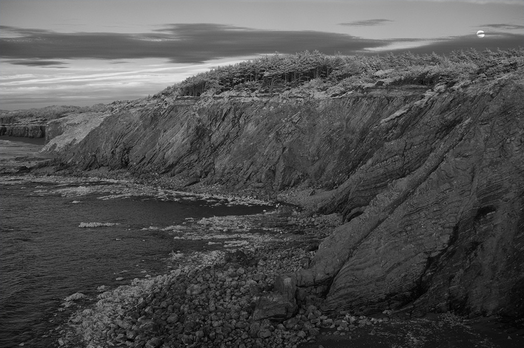 Blacklock point, Port Orford, Andrew D. Barron©2/6/12