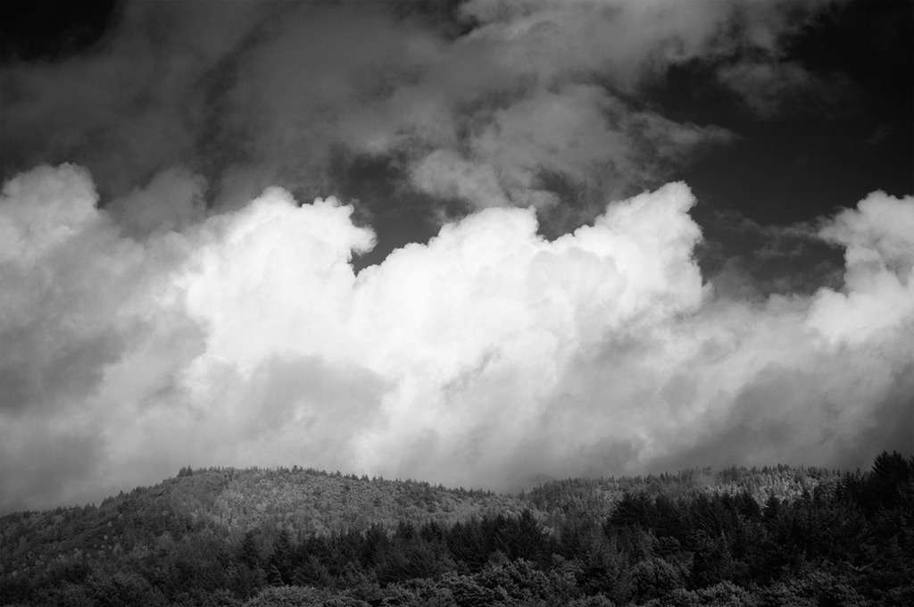 Clouds above Ophir, Andrew D. Barron©2/14/12