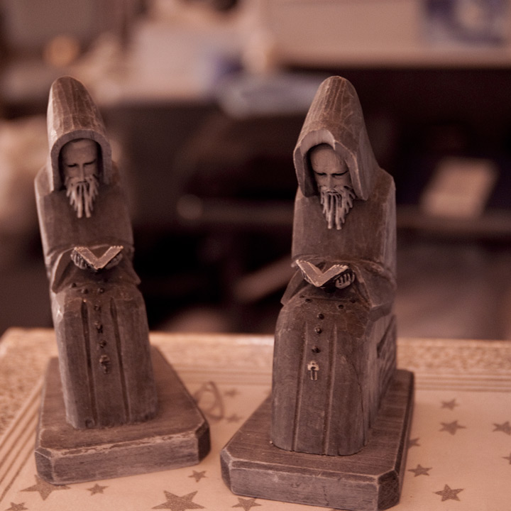 Thrift store bookends, Andrew D. Barron©2/25/12