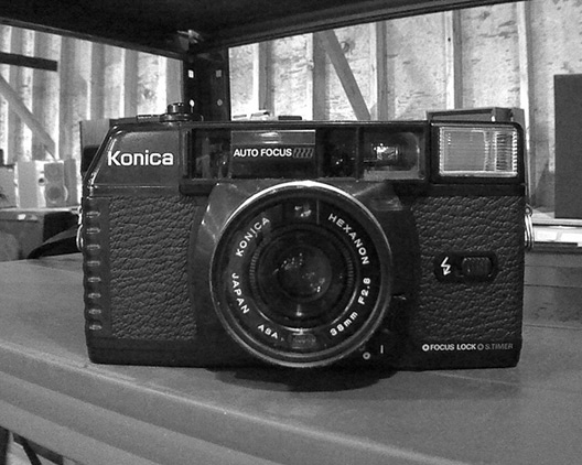 Konica 35mm automatic, Andrew D. Barron©2/11/12