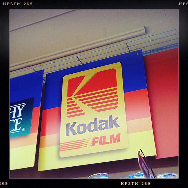 Kodak sign, Brookings, OR, Andrew D. Barron©2/25/12