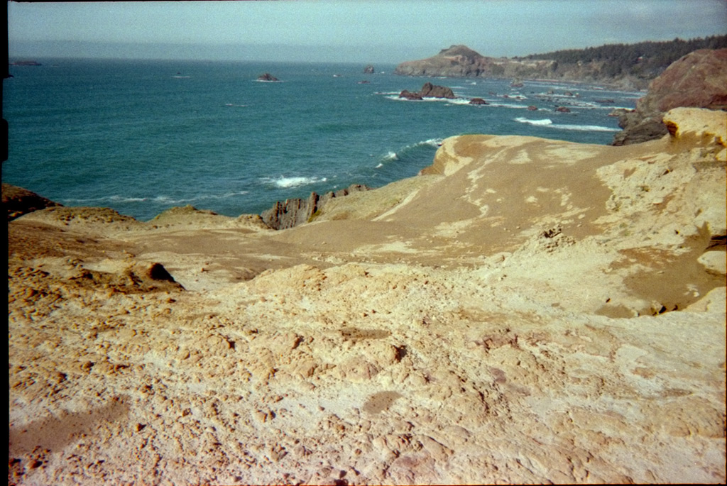 Hubbard Mound from Otter Point with a disposable camera, Andrew D. Barron©2012