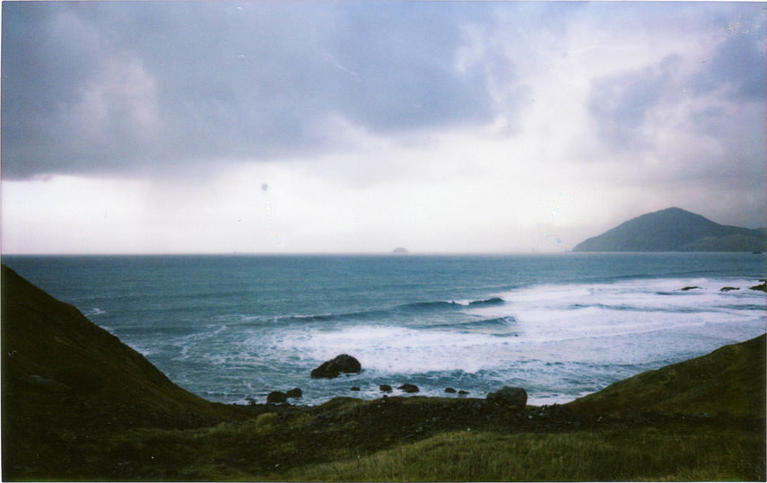 Parting shot from Sisters Rocks, instax 210, Andrew D. Barron©2/14/12