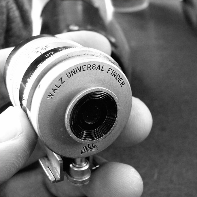 Walz universal finder for Leica, Andrew D. Barron©3/1/12