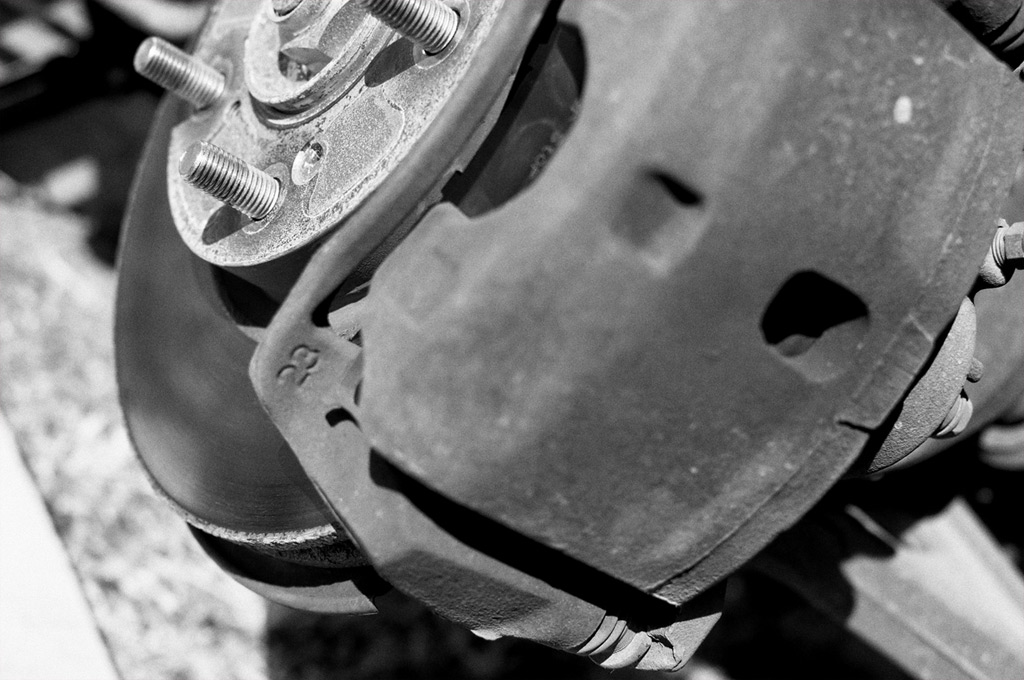 Front brakes, Andrew D. Barron©3/3/12